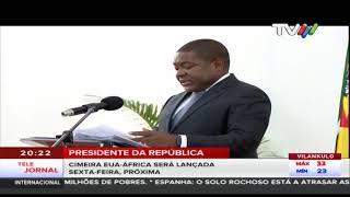Presidente da República: Cimeira EUA-ÁFRICA Lançada sexta-feira, próxima