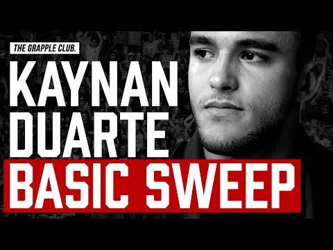 BASIC BJJ SWEEP - ADCC Champion Kaynan Duarte