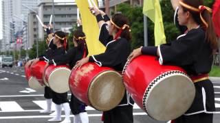 琉球國祭り太鼓 (帰る場所) in 浦安フェスティバル 2014 thumbnail