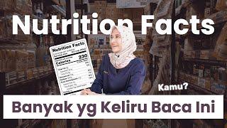5 Hal Dari Nutrition Facts yang Banyak Orang Salah Paham   dr. Vania Utami