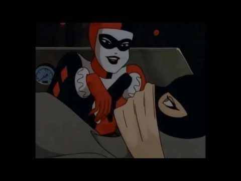 Harley Quinn Apunto de matar a Gatubela