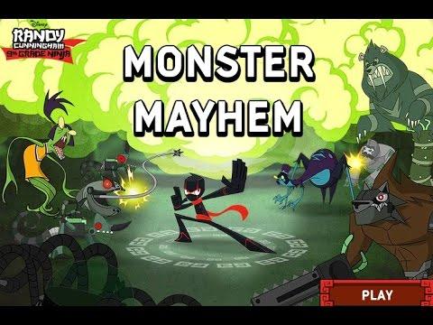 Randy Cunningham Monster Mayhem Games For Kids Gry Dla
