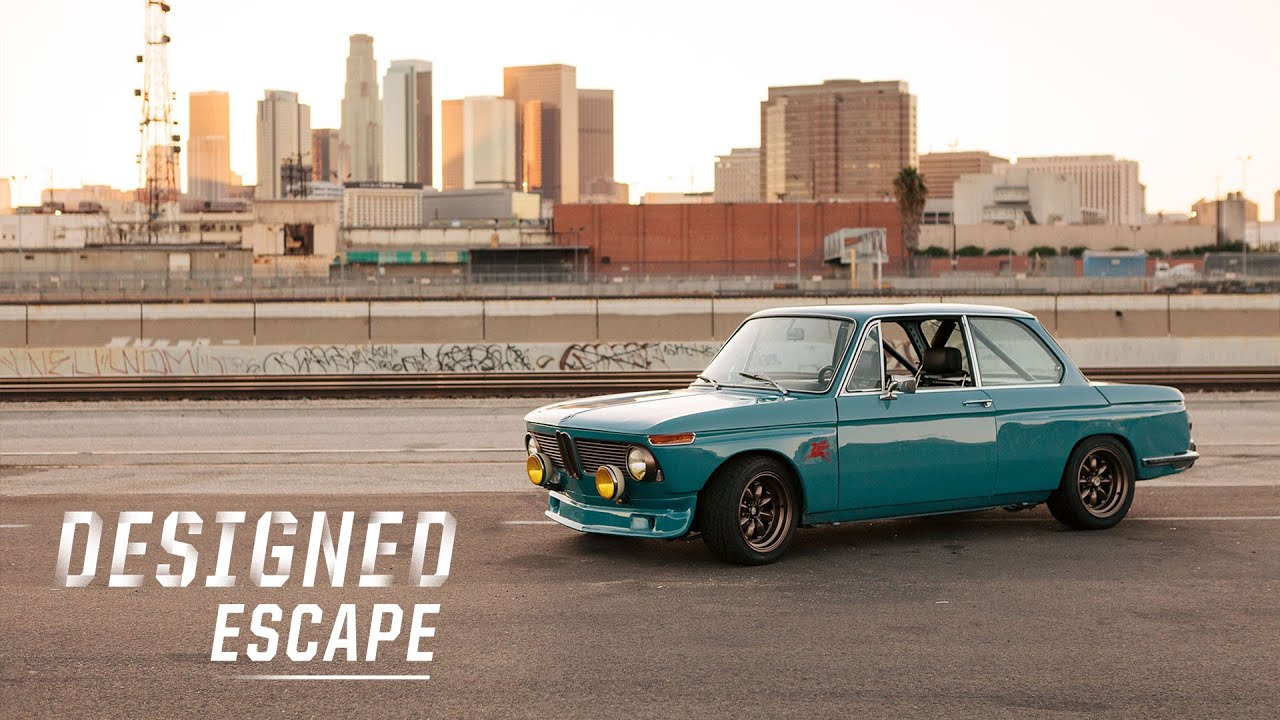 This Bmw 2002 Is Driven Aggressively By A Car Designer Youtube