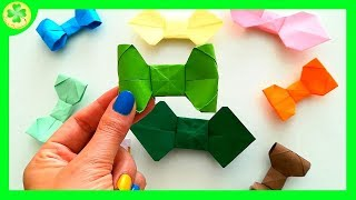 Jak zrobić Muchę Origami / How to make an Origami Bow Tie
