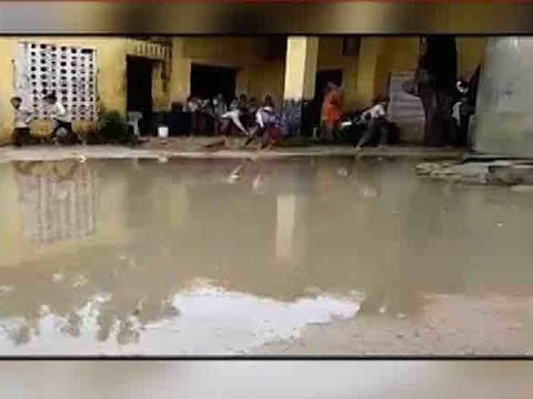 Twarit Dukh: School Running In Ruins In Haryana`s Rewari, Students Sit Under Broken Sheds | ABP News