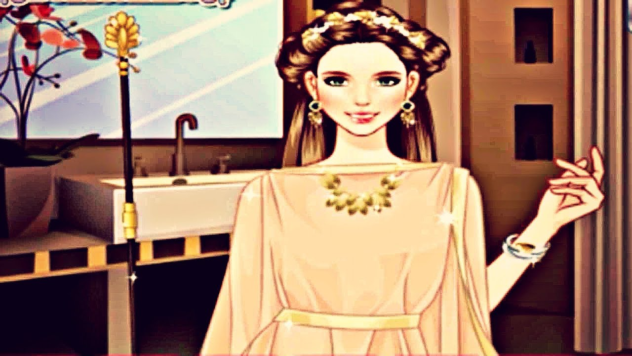 Ancient Greek Fashion Girl Hair Styles and Makeover 3D Game for