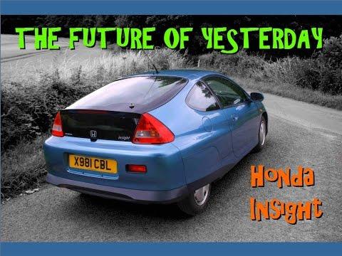 2001 Honda Insight Gen 1 Hybrid road test review
