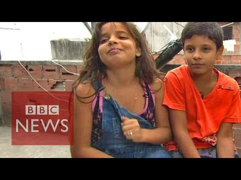 'They smoke crack...' Being 11 in a Rio favela - BBC News thumbnail