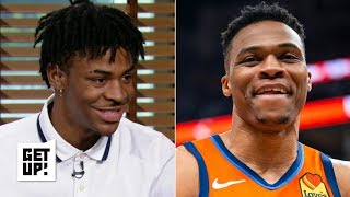 Ja Morant humbled by Russell Westbrook comparisons, would embrace Grizzlies\' selection | Get Up!