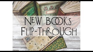 New Books for Etsy - Flip Throughs