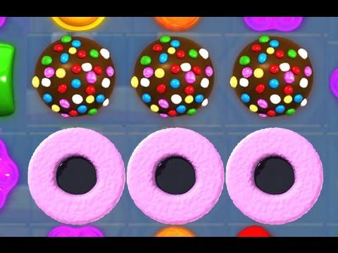 Candy Crush: CRAZY 3 COCONUT WHEELS & 3 COLOR BOMBS !!
