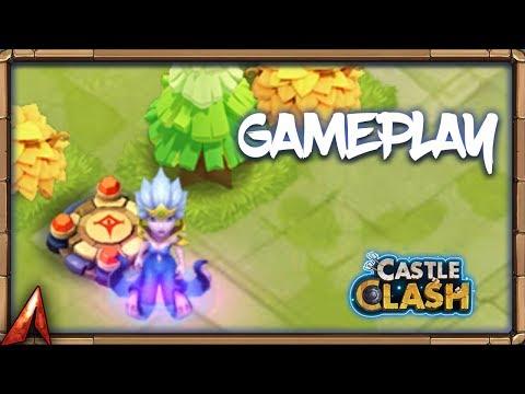 New Hero Ocean Queen Gameplay! Castle Clash