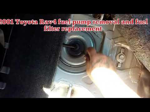change fuel filter toyota camry   liter doovi