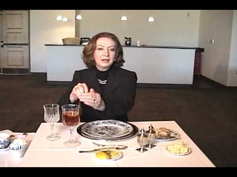 Dining Etiquette with Sybil Davis (Part 3 of 4)