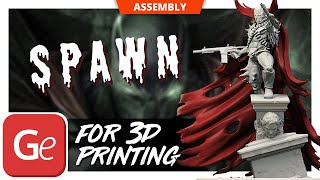 Spawn 3D Printing Figurine | Assembly by Gambody