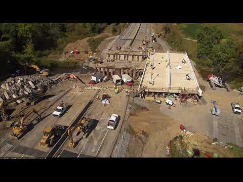 One Year Anniversary - The PTC Lateral Bridge Slide