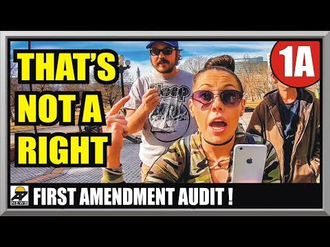 ZERO TO 100 - TRIGGERED AT THE DENVER CAPITOL BUILDING - First Amendment Audit - Amagansett Press