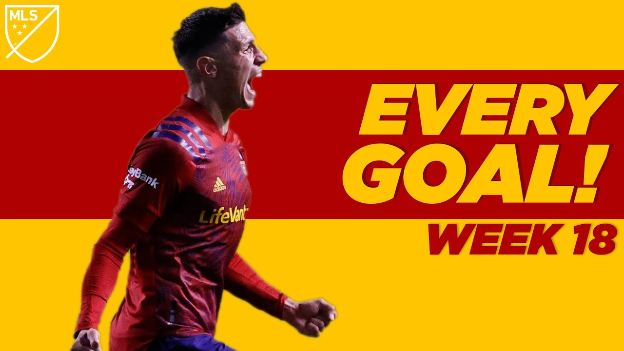 ALL GOALS From MLS Week 18! 17-Year-Old scores Golazo (Again), Late Stunners and More!