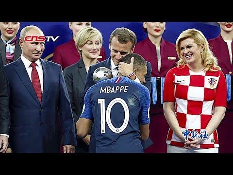 俄罗斯世界杯决赛场面 法国二度加冕赢了大力神杯