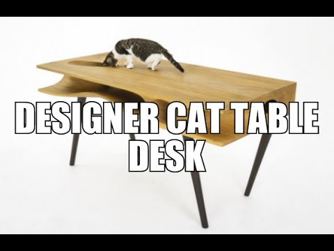 Designer Cat Table Desk - By Ruan Hao