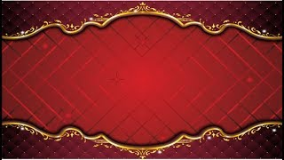 Hochzeit Rot Frame Motion Video Background || DMX-HD-BG-270