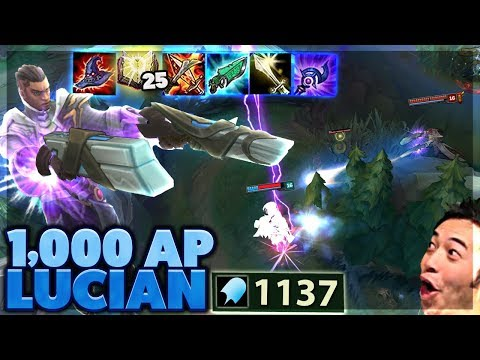 ULTIMATE ONE SHOT | I SHOW MY EDITOR HOW TO EDIT | 1,000 AP LUCIAN - BunnyFuFuu