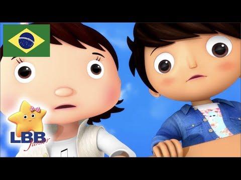 Desenho Para Bebe | Brinquedos E Jogos | Canções Para Crianças | Little Baby Bum Júnior