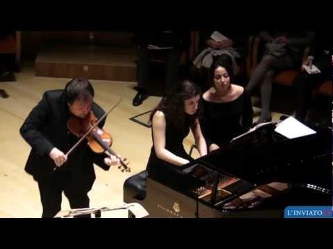 Museo del violino. Sergej Krylov suona lo Stradivari
