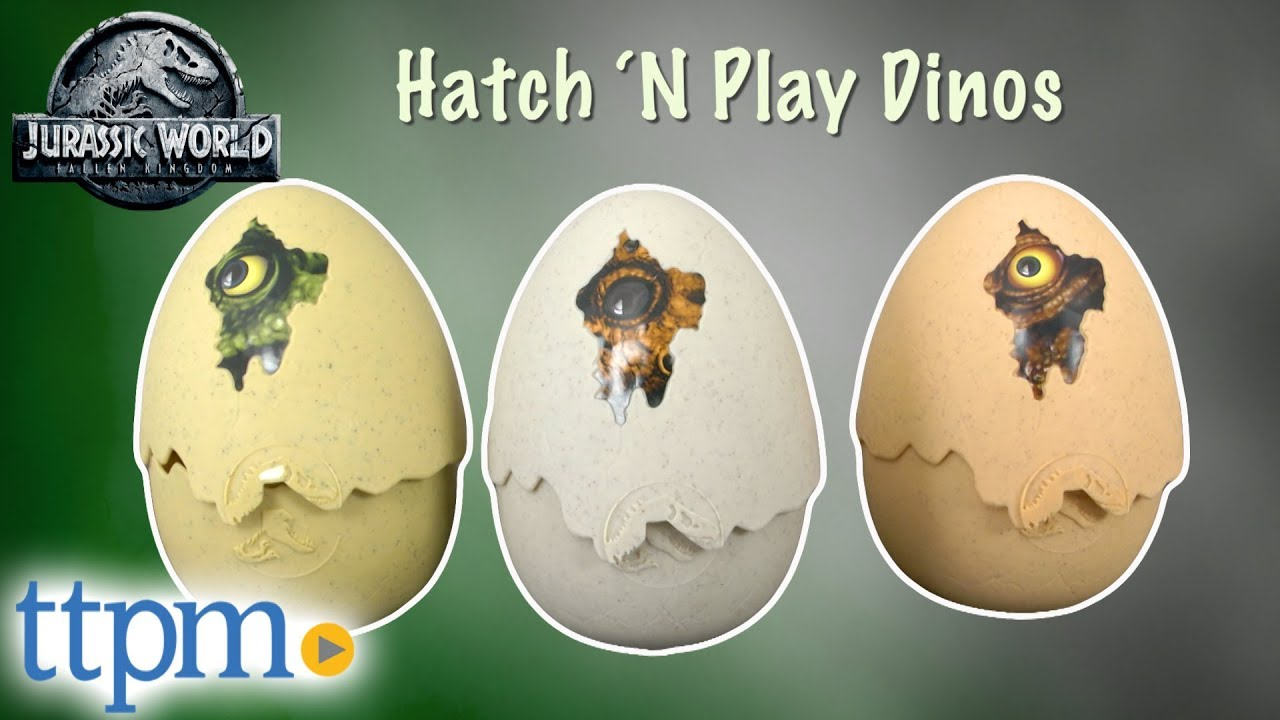 Jurassic World Hatch /'N Play Dinos Triceratops