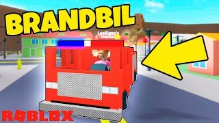 BUY FIRE TRUCK! -Danish Roblox: Fire Fighting Simulator #3