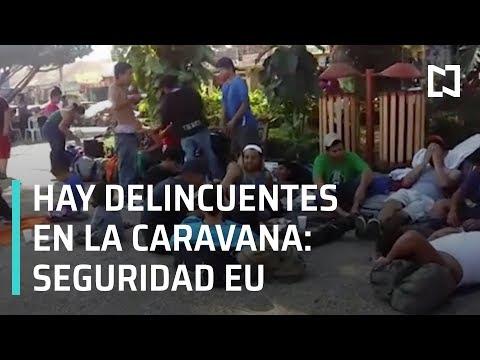 Delincuentes en Caravana Migrante de Honduras: Seguridad EU - En Punto con Denise Maerker