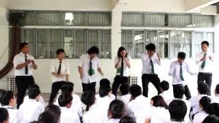 vuclip รับน้องBC UDRU 2013 รับน้อง เต้นฮาเป้าแตก