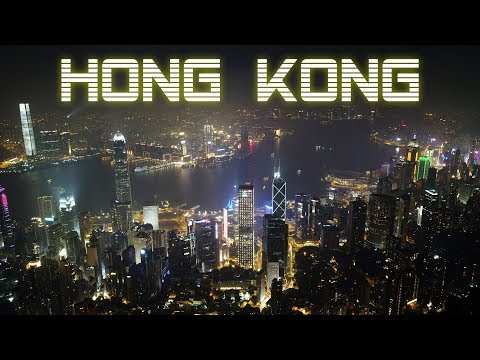 Hong Kong Travel by Drone 2017
