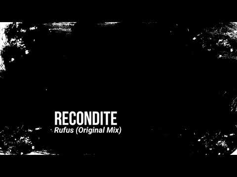 Recondite - Rufus (Original Mix)