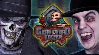 ???? Graveyard Keeper - Symulator grabarza cz.3 *potem dotka* - Na żywo