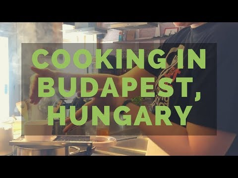 Central Market Cooking Class in Budapest, Hungary: All the Paprika!