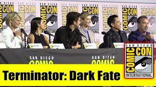 TERMINATOR: DARK FATE Comic Con 2019 Panel (Mackenzie Davis, Arnold Schwarzenegger, Linda Hamilton)
