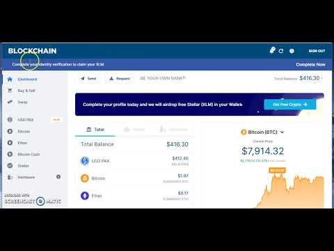 HOW TO USE BLOCKCHAIN WALLET TO EXCHANGE BTC/ETH FOR PAX