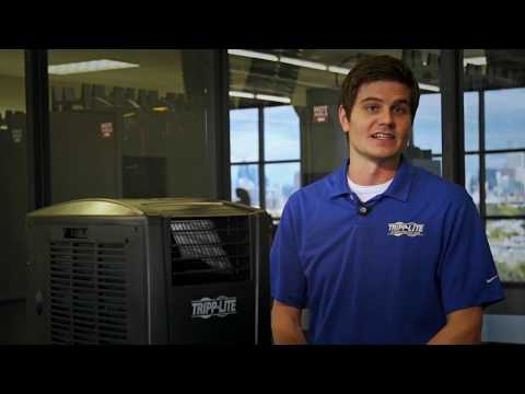 how to install the srcool12k portable air conditioner - tripp lite - youtube