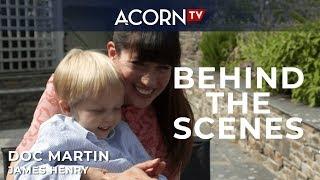 Acorn TV Exclusive  Doc Martin Behind the Scenes Meeting James Henry