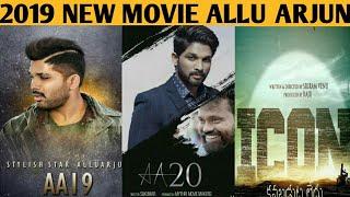 #Allu Arjun Upcoming Movies | Allu Arjun New Movie Hindi Dubbed | AA19, AA20, Icon, Hindi Dubbed
