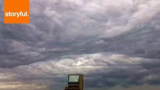 Sky Time-Lapse Looks Like Waves Of Clouds (Storyful, Time-Lapse)