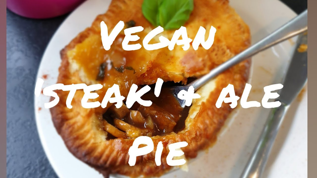 Vegan 'Steak' & Ale Pie (with mushrooms) Must See - YouTube