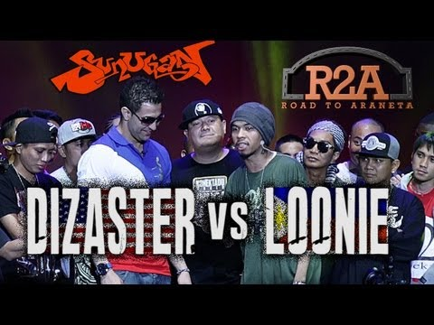 Sunugan - Loonie vs. Dizaster (Official Battle)