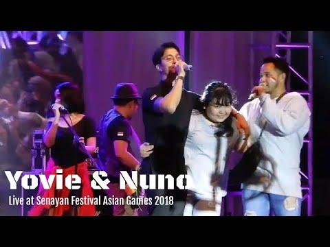 Yovie & Nuno - Janji Suci | Festival Asian Games 2018