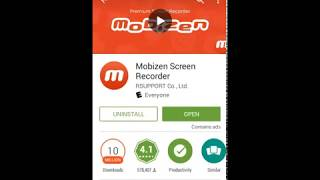 How to: use mobizen screen recorder