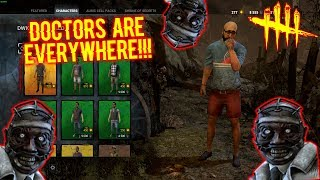 DOCTORS ARE EVERYWHERE!!!! Vacation Dweard Gameplay - Dead By Daylight