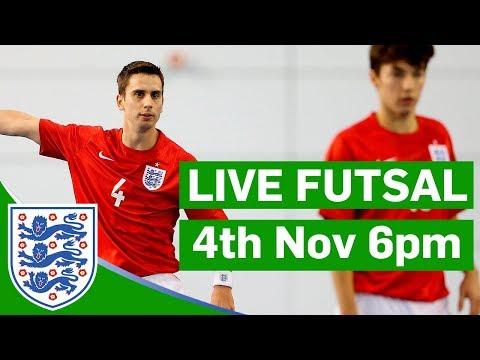 England v Wales | Futsal | 4th November 6pm | St George's Park