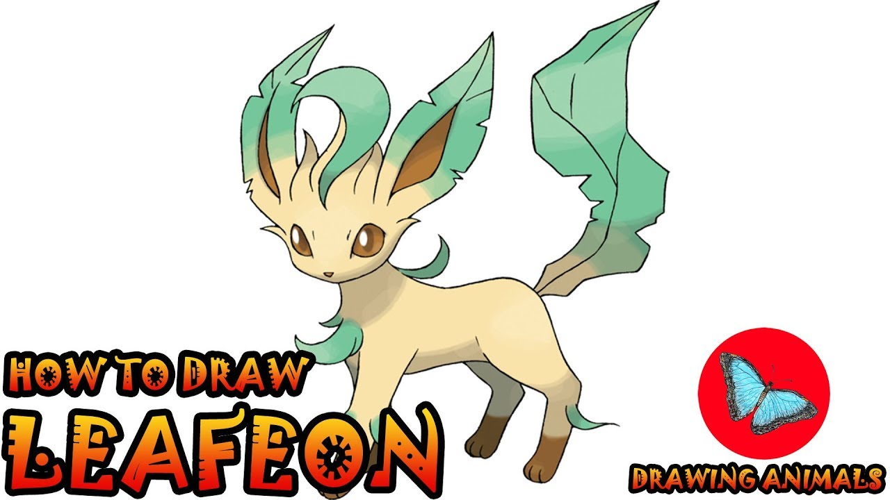 How To Draw Leafeon