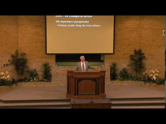 Ezra, an Example in Service - 7-19-2020 - church of Christ sermon